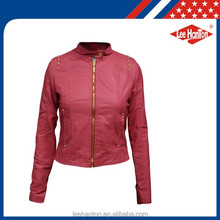 Wholesale Pu Leather Jacket High Quality For Women