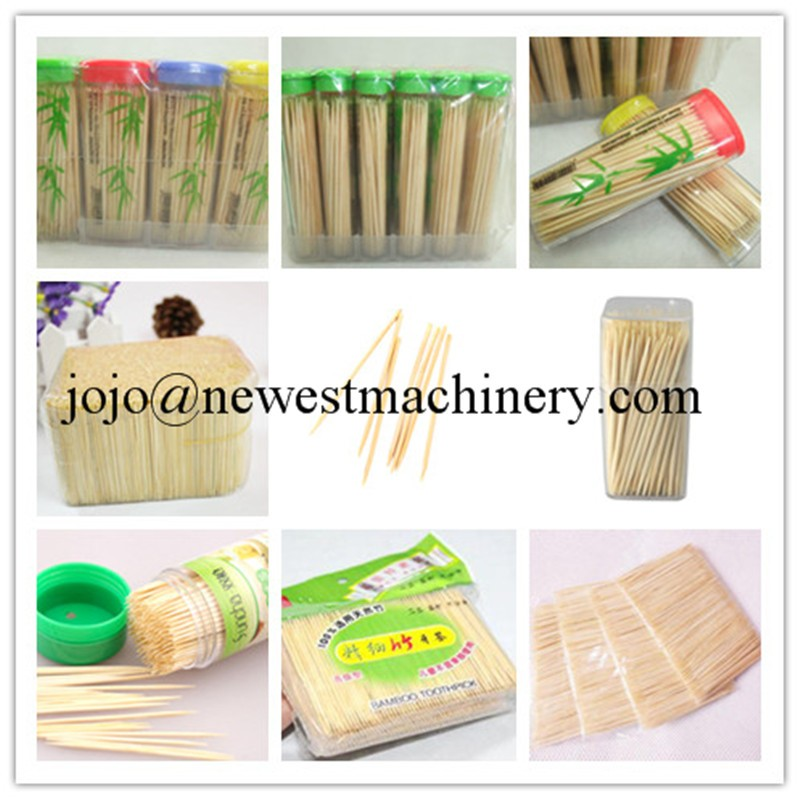 Automatic bamboo toothpick making machine/toothpick packing machine/toothpick production line equipment