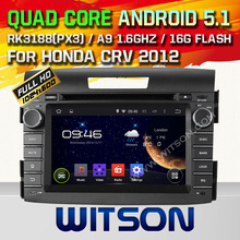 WITSON ANDROID 4.4 FOR HONDA CRV CAR STEREO WITH CAPACTIVE SCREEN BLUETOOTH RDS 3G WIFI