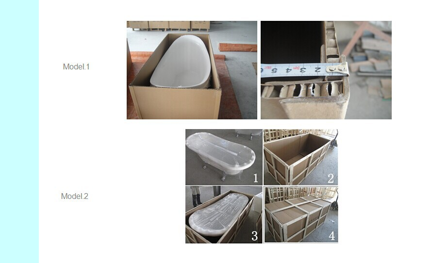 Modern CUPC Certificated Freestanding Bathtub JS-6814