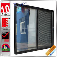 Australian standards AS2047 AS2208 AS1288 double glass commercial automatic commercial sliding door