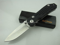 popular top quality premium 7Cr17Mov steel blade G10 handle tactical folding pocket knife