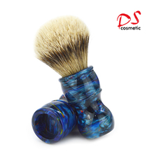 Fashion silver tip badger head shaving brush with good price