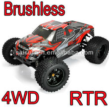 rc truck 1 10 scale full time 4wd off road electric rc brushless car oem product