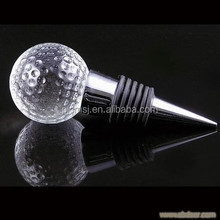 Golf Ball Shape Crystal Wine Stopper For Home Decoration