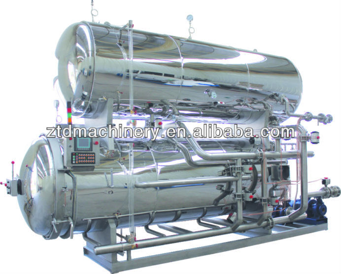 ZTD PLC Control Soy Milk Sterilization Machine