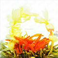 Free Sample Gift Package Blooming Artistic Flowering Tea