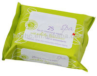 25pcs face cleansing wet wipes/cleansing face wipes/face refresher wipes OEM manufacturer China