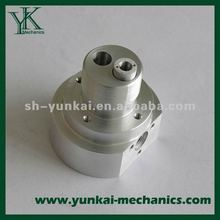 White zinc plated spare parts, CNC hardware parts