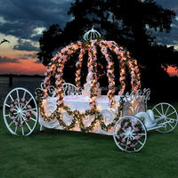 BISINI Used Cinderella Pumpkin Horse Carriage
