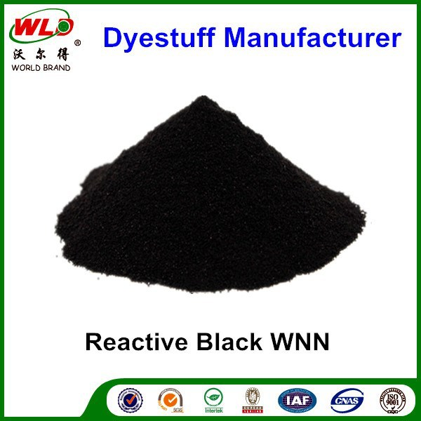 Reactive Black WNN Chemicals used for Textile Industry Reactive dye