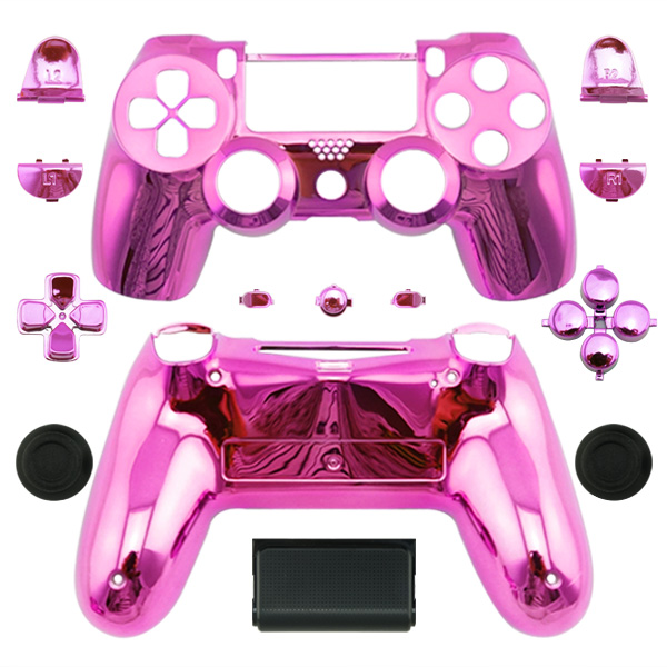 High quality chrome 6 color custom controller shell for ps4