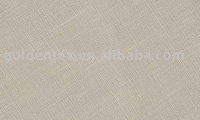 wholesale 100% linen flax plain dyed woven fabric