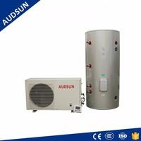 6.5KW Best selling Alibaba air source Heat Pump, Audsun Split type Water Heater 7C~60C range setting,rotary compressor system