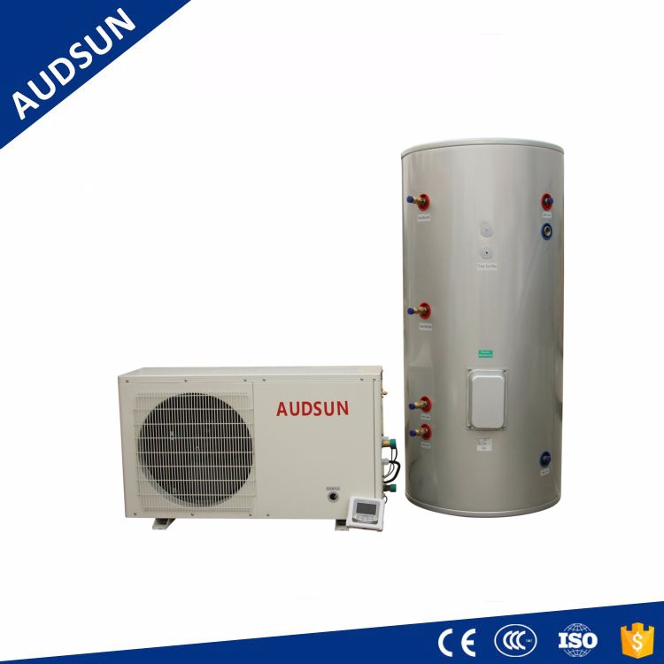 Best Sell Alibaba 6.5KW bathing sanitary air source Heat Pump,split system rotary compressor,split 7 to 60deg set Water Heater
