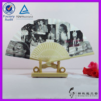 pictures chinese personalized dance fans plain make paper hand fans