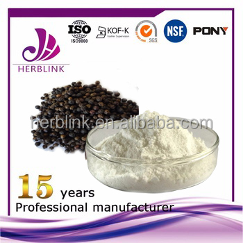 Black Pepper Extract Powder / black pepper powder /Piper nigrum L.Extract