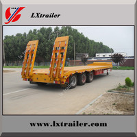 Heavy Machine Transport Low Bed Semi