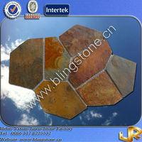Mesh Back Flagstone Outdoor Slate Stepping Stones