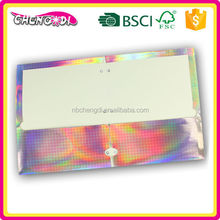 Promotional beauty paper two pocket paper file folder