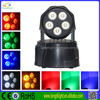 Guangzhou manufacturers 5IN1 5*10W moving head,pr lighting moving heads,led dj lights moving head
