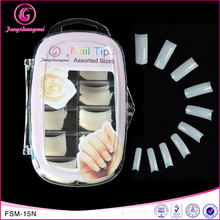 fengshangmei nail art professional salon free sample artificial curved salon nail tips