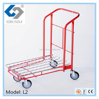 Platform Truck Factory Warehouse Cargo Cart