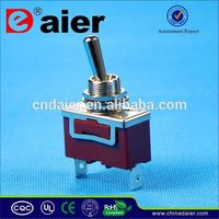 Daier 6 pin dpdt momentary toggle switch
