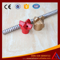 LUHUI R32 high quality galvanized self drilling soil nailing