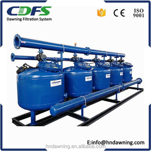 industrial water treatment separator grit classifier sand filter