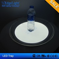 Party and Garden Decoration Led serving tray led plastic tray