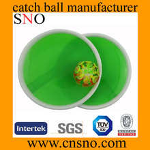 Flashing and lightless Balls Suction Catch Ball with new color design Plastic Catch Ball