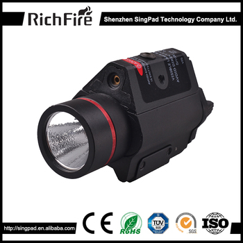 Red laser gun sight gun mounted hunting search hunting torch light