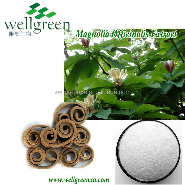 Magnolia Bark Extract Magnolol and honokiol botanical extract/ Herb Medicine