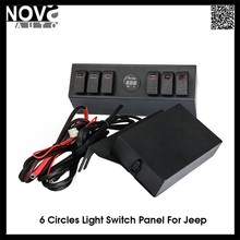Red Lights Full Set Of Switch Panel 2007-2015 Lighting Control