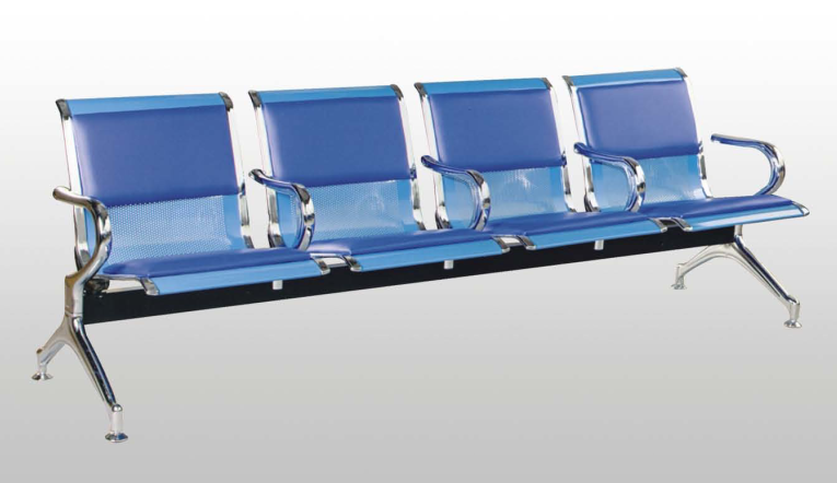 Factory Price Hot sale Hospital Waiting Chairs/Public Waiting Blue Chairs/Waiting Bench ChairsD06-2 Seating