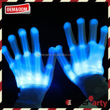 2017 Party Custome Gift Kids Led Lights Glove