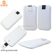 Newest pull tab pu leather case for mobile phone