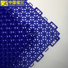 Multipurpose outdoor type interlocking pp plastic floor tiles