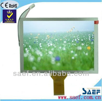 "8"" tft lcd video display 800x600 dots with CTP or RTP module"