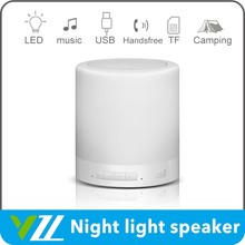 Out Bluetooth Speaker Wireless Bed Lamp, Audio Speaker With Speaker Bluetooth