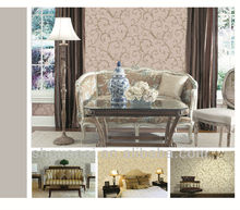 3d textured luxury non-woven wallpapers for home decoration