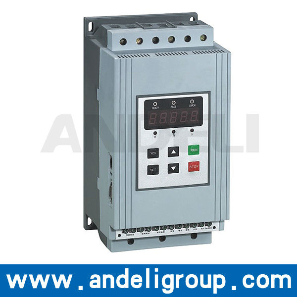 AJR3 series AC 380v or 660v motor soft starter for 5.5kw - 75kw power supply