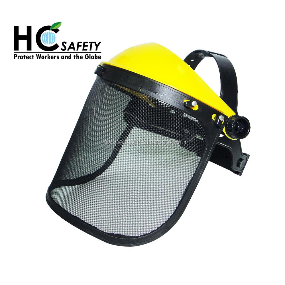 F001 ce & ansi coal mining workwear wire mesh face shield hot new products