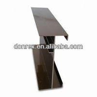Aluminum Extrusions, Electro-coating Profile, Strong Corrosion-resistant Property