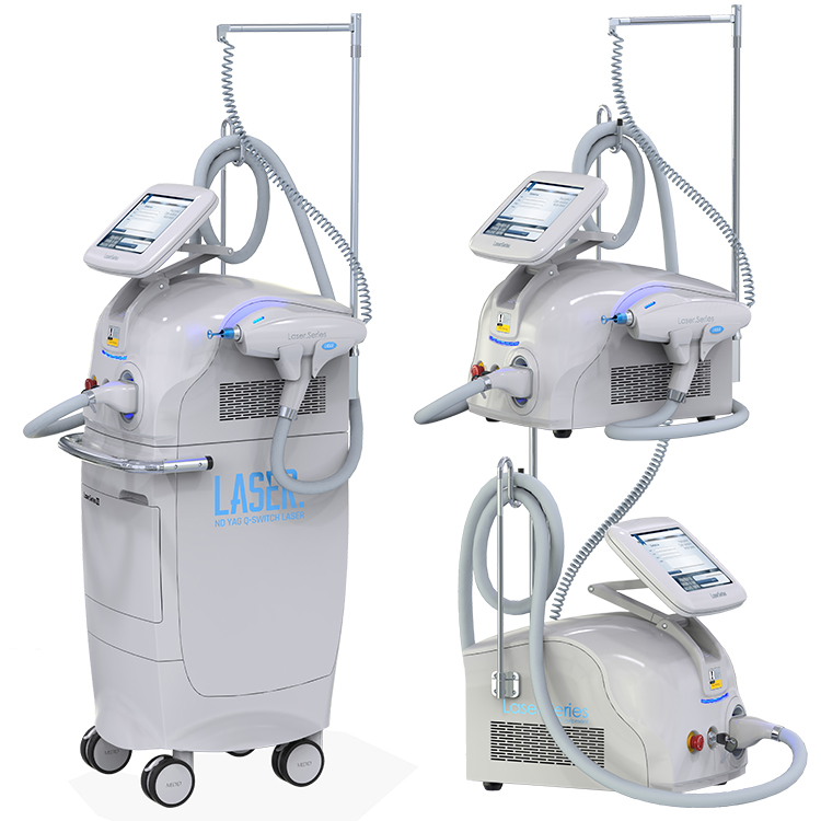 ZFL-B picosecond Active q switch nd yag laser tattoo removal machine