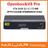NEW!OPENBOX v8 PRO dvb-c/dvb-d2/dvb-t2 set top box with free IPTV,cccam,newcammd ,supprot free porn video