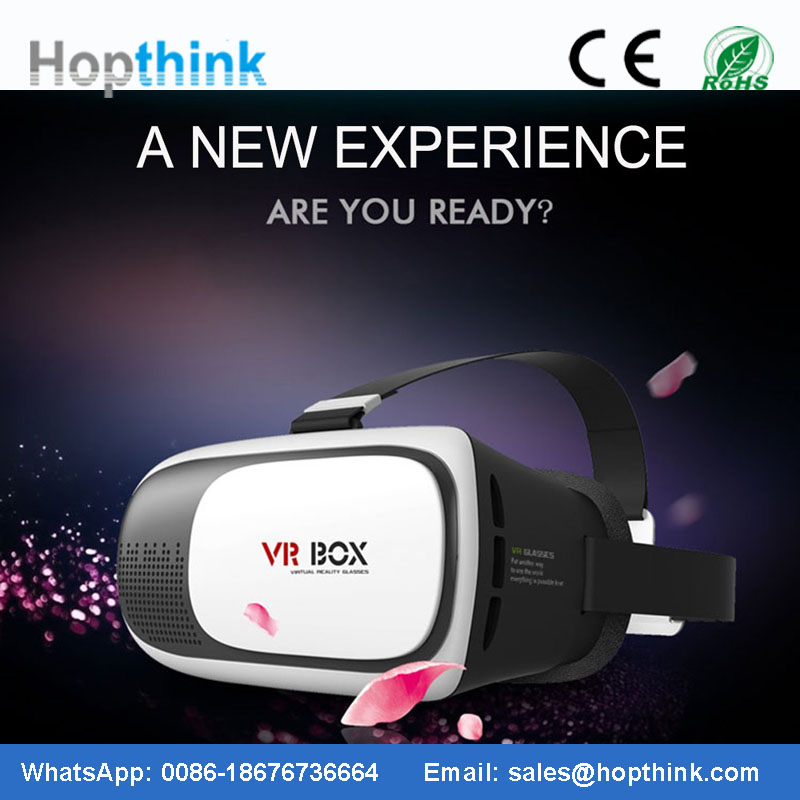 Active shutter 3d projector glasses dlp link 3d ready projector use 3D VR HMD Helmet VR Glasses