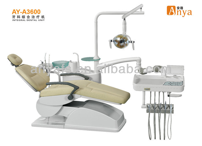 Anya dental chair unit AY-A3600 portable dental unit with silent compressor