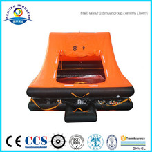 EC/GL approved drop type 10 person life raft